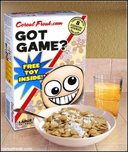 basketball cereal