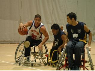 wheel chiair basketball