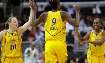 Lisa Leslie MVP 3's a Charm
