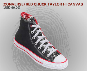Join Red Converse Design