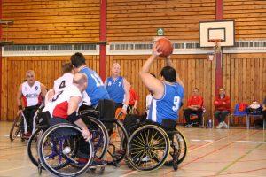 wheel chair basketball