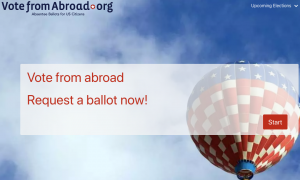 vote from overseas