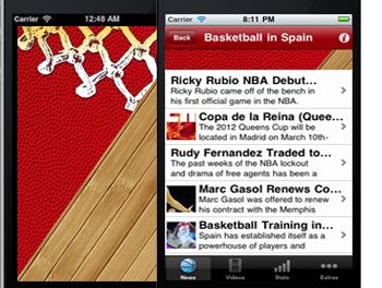 Spanish Basketball Leagues App – Apple Appstore